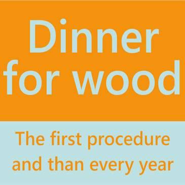 Dinner for wood